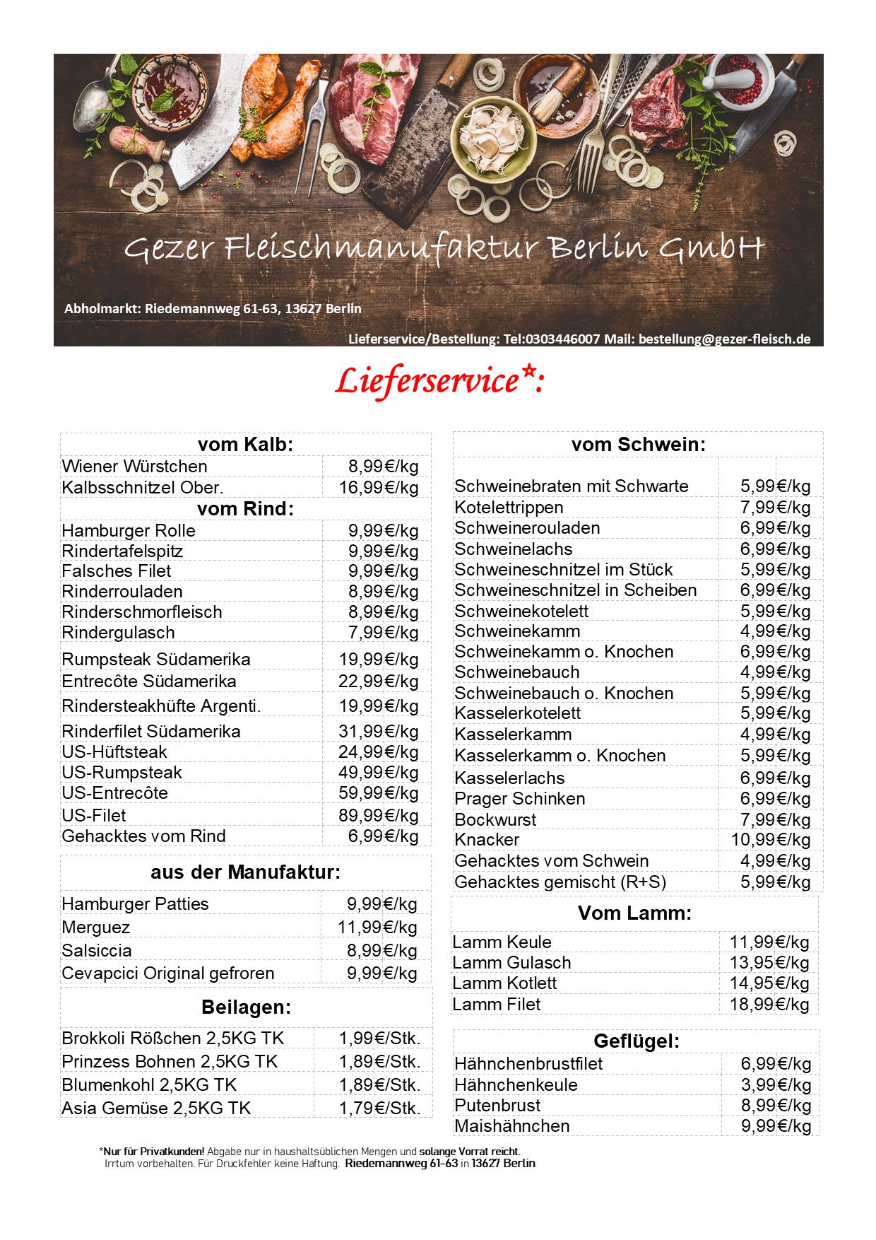 Gezer-Angebote-Lieferservice